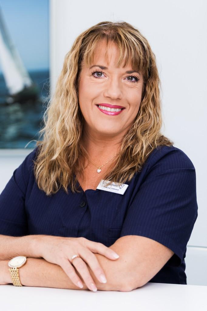 Claire Johnson. Astma/KOL-sjuksköterska och Distriktsköterska